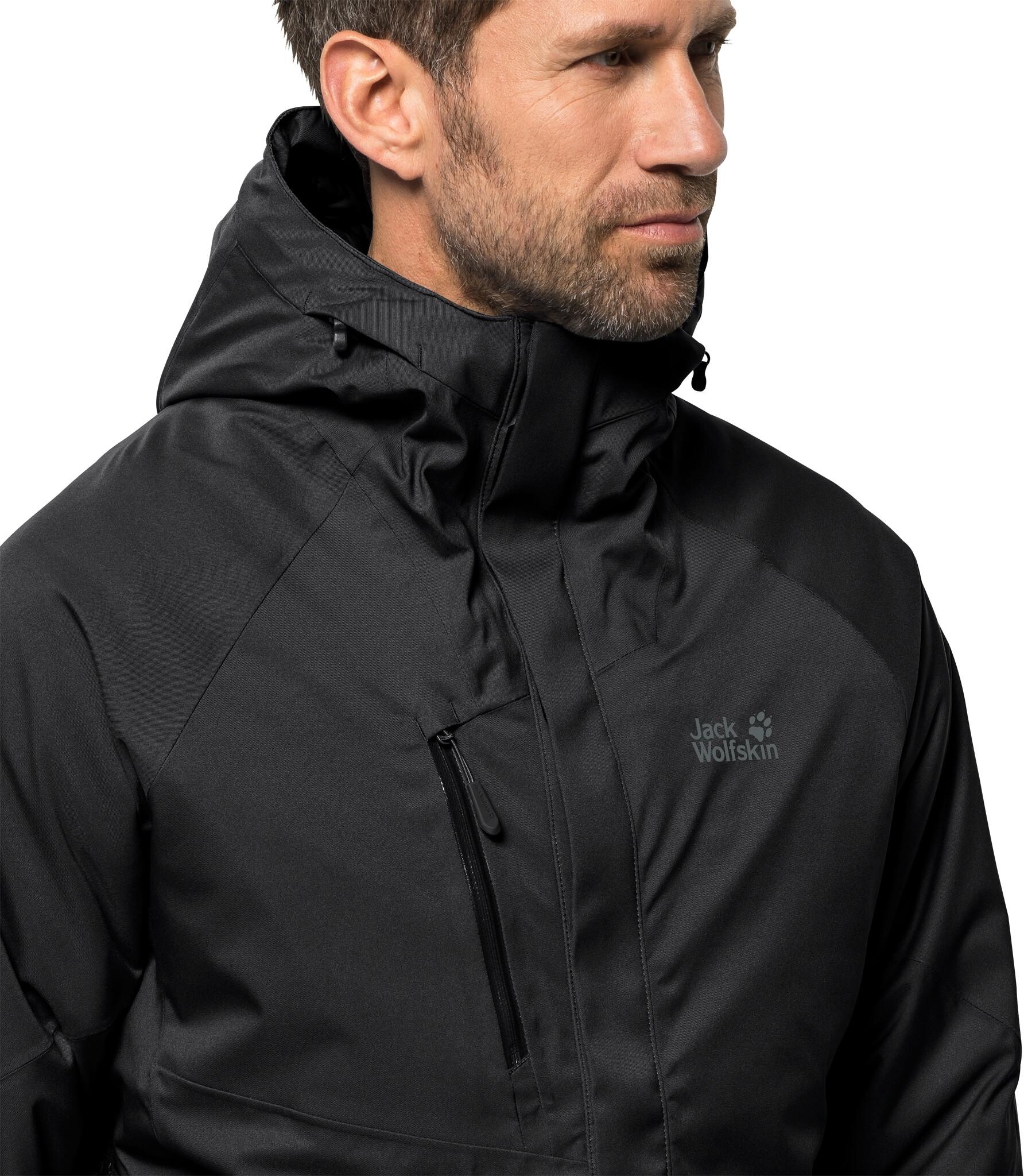 gesamte Sammlung Schnäppchen 2017 60% günstig Jack Wolfskin Troposphere Jacket Men black